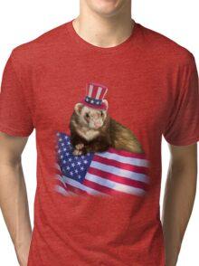 Patriotic Ferrot Tri-blend T-Shirt