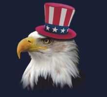 Patriotic Eagle Kids Tee