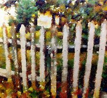 My White Picket Fence by michaelgabriel