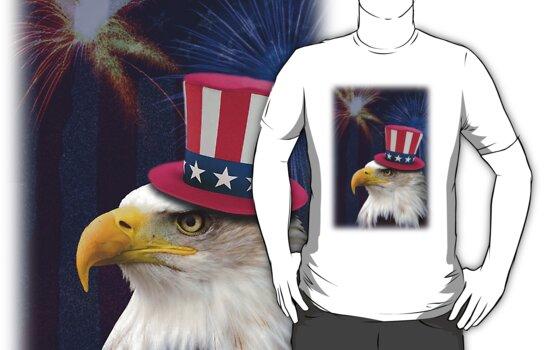 Patriotic Eagle by jkartlife