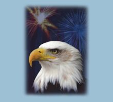 Patriotic Eagle Kids Clothes