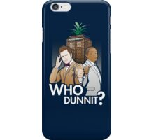 Who Dunnit? iPhone Case/Skin