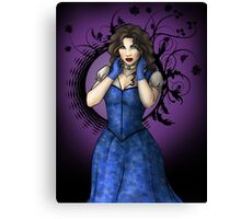 Dark Princess Canvas Print