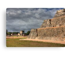 Great Ball Court Canvas Print