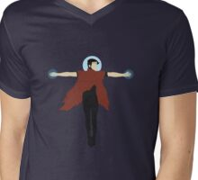 Wiccan Halo Vector Mens V-Neck T-Shirt