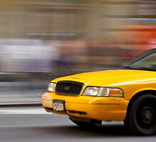 Yellow Cab by ArtLandscape
