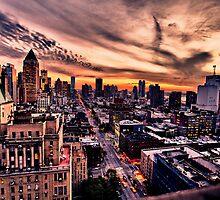 New York Sky by ArtLandscape