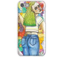 Pastel Princess Gives No Sh*ts iPhone Case/Skin