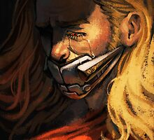 Muzzled Thor by genue