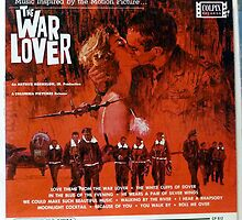 The War Lover, 1962 album lp cover, Steve McQueen by Vintaged