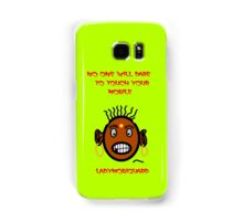 Angry Lady will Guard your iphone and ipad Samsung Galaxy Case/Skin
