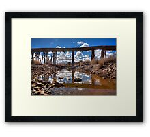 Bridge Over Not Really Very Troubled Waters Framed Print