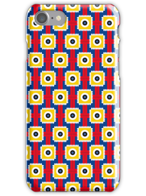 Crossed Tongues iPhone Case by Gwendal