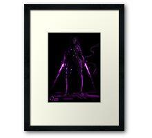 Psylocke Print Framed Print
