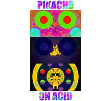 Pikachu On Acid Photographic Print