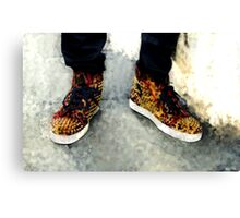 Street Sneakers Canvas Print
