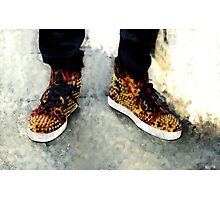 Street Sneakers Photographic Print