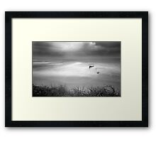 The View from the Dunes - Caloundra Qld Australia Framed Print