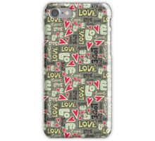 lot of love iPhone Case/Skin