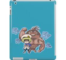 Macktaro & Funghi Platinum - Bizarre Detective iPad Case/Skin