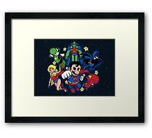 Mushroom League Framed Print