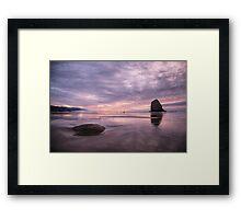 Cannon Beach sunset, OR Framed Print