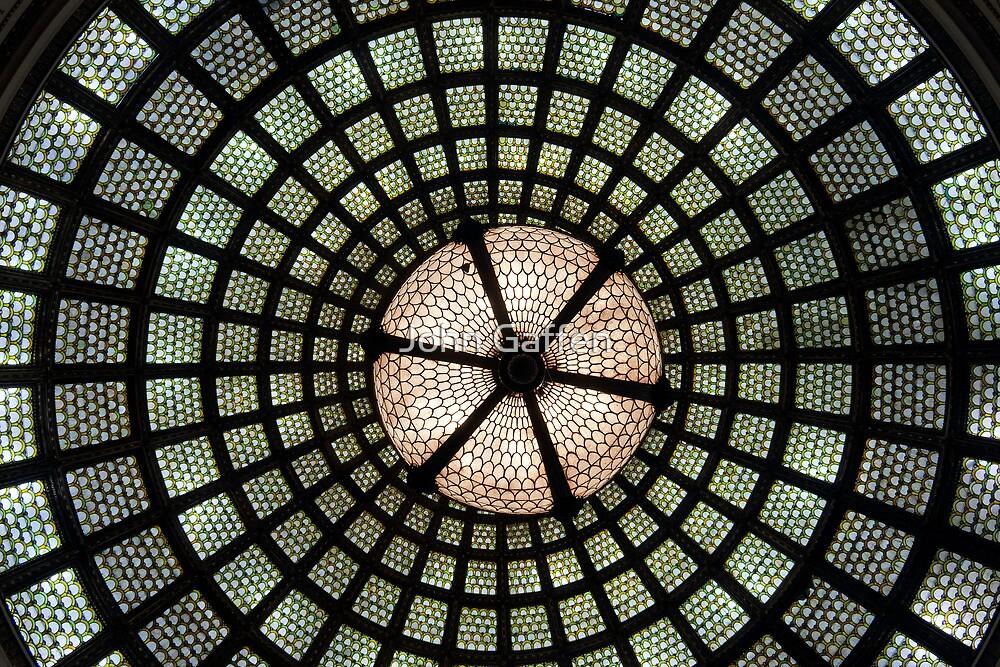 Tiffany Glass Dome by John Gaffen