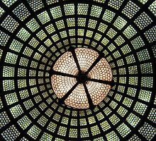 Tiffany Glass Dome by John Gaffen