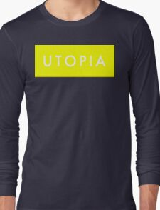 Utopia - Yellow Long Sleeve T-Shirt