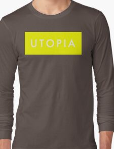 Utopia - Yellow Long Sleeve T-Shirt