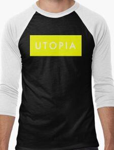 Utopia - Yellow Men's Baseball ¾ T-Shirt