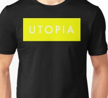 Utopia - Yellow Unisex T-Shirt