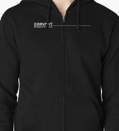 Corvadt Biological Sciences - Utopia Zipped Hoodie