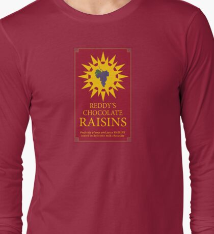 Reddy's Chocolate Raisins - Utopia Long Sleeve T-Shirt