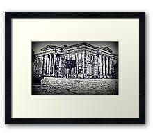 Macclesfield Town Hall Framed Print
