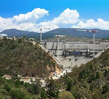 Cotter Dam Enlargement, Canberra ACT by Property & Construction Photography