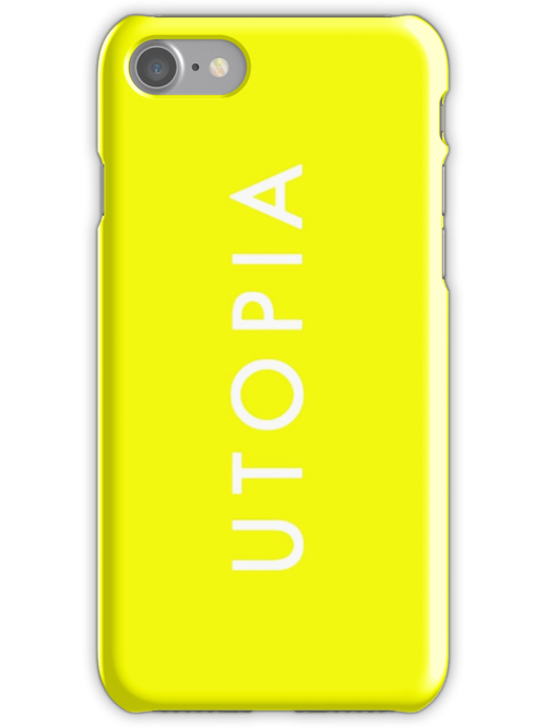 Utopia - Yellow by Tim Topping