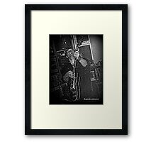 Rock Guitarist Framed Print