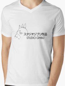 STUDIO GIBLI - TOTORO (HD) Mens V-Neck T-Shirt