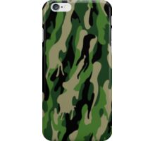 Green Mimetic (Classic) iPhone Case/Skin
