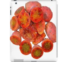 Tropical Red Prickly Pear Fruit  iPad Case/Skin