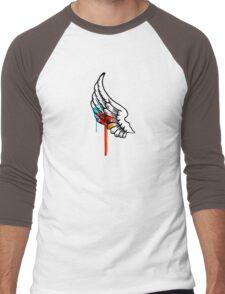One Winged Nerd. Men's Baseball ¾ T-Shirt