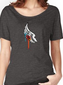 One Winged Nerd. Women's Relaxed Fit T-Shirt