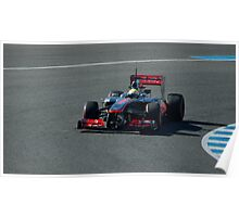 Sergio Perez Poster