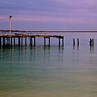 Abandoned Jetty by Mark  Nangle