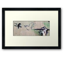 Let your thoughts have wings Framed Print