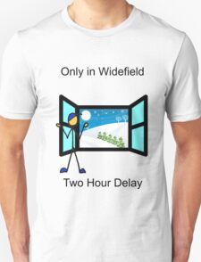 Widefield snow day policy T-Shirt