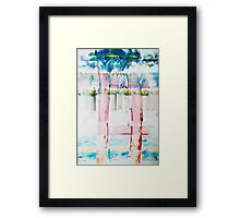 The Other Way...   probably Jamaica? Framed Print