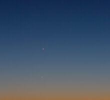 The Moon, Mercury & Mars by Daniel Owens