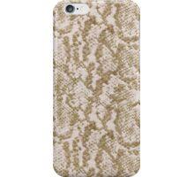 Tan Snake Skin iPhone Case/Skin